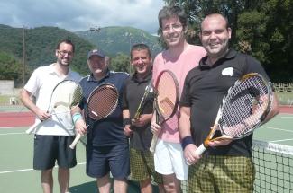 Quatre equips absoluts del Club Tennis Guíxols debuten als campionats gironins