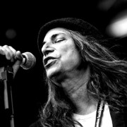 Patti smith en concert a Sant Feliu de Guíxols