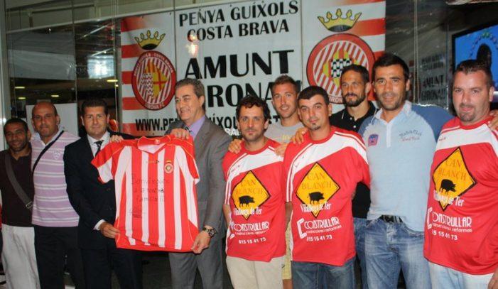 Nova penya del Girona F.C. a Sant Feliu