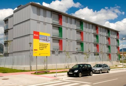 Adigsa sorteja 12 habitatges amb protecció oficial de lloguer a Castell-Platja d'Aro