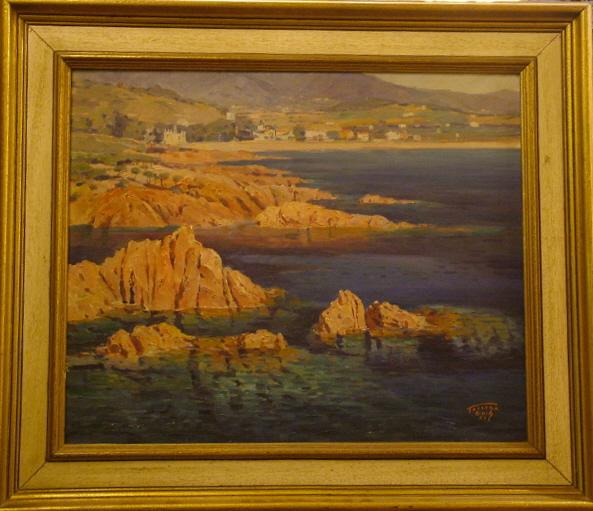 """S'inaugura """"Torrent Buch, pintor de la Costa Brava"""" a Sant Feliu de Guíxols."""