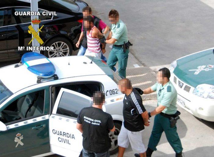 La Guàrdia Civil va detenir a trenta narcotraficants a Girona el 2010 de Sant Feliu de Guíxols i Platja d'Aro
