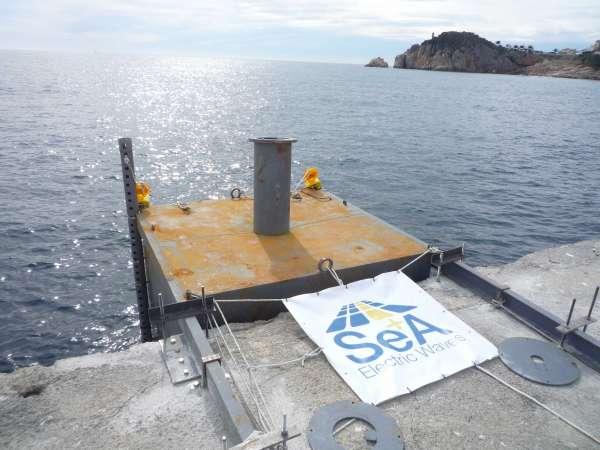 El Port de Sant Feliu de Guíxols instal.la tecnologia per obtenir electricitat del mar
