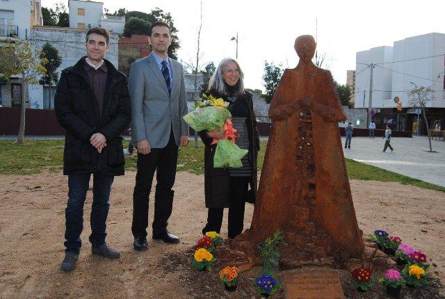 El monument a les víctimes de la Guerra Civil ja està inaugurat a Sant Feliu