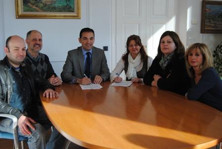 L'Associació de Comerciants de Sant Feliu Signa Conveni amb L'Ajuntament.