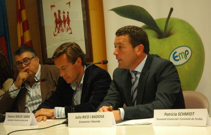 Francesc Rebled va presentar a Carles Bassó com a President d' Emprenedors Per Santa Cristina i a Julio Rico, Alcaldable per Santa Cristina d' Aro.