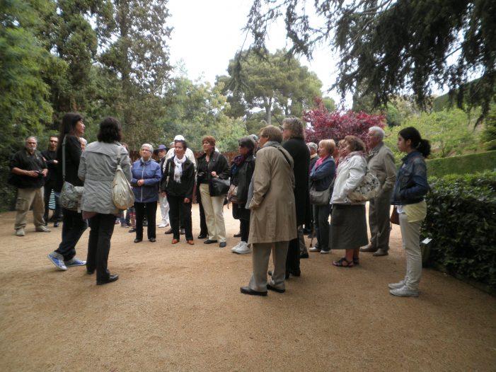Visita cultural de l'Associació d'Amics del Museu de Sant Feliu de Guíxols a Lloret de Mar