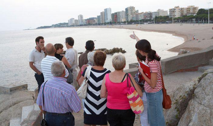 Les visites guiades de Platja d´Aro han rebut 135.000 visitants en 14 anys