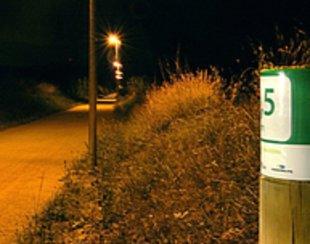 Il·luminen trams de vies verdes a Quart, Bescanó i Santa Cristina