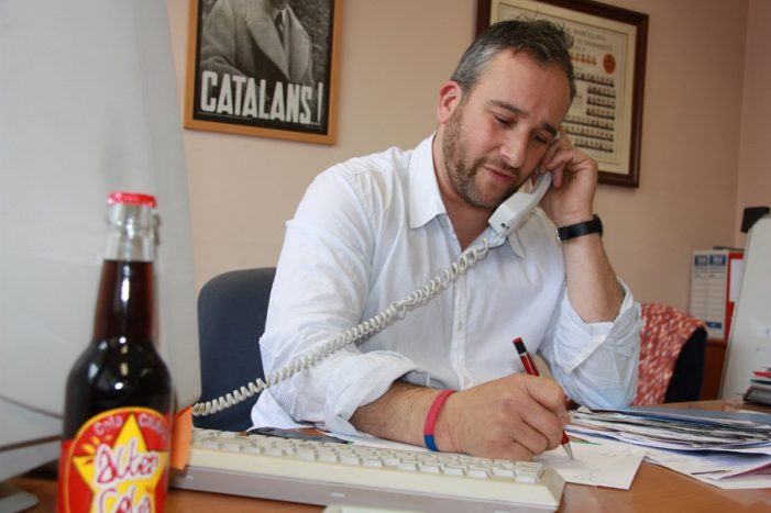 El Cercle Català de Negocis du l'espoli fiscal a la Cambra.