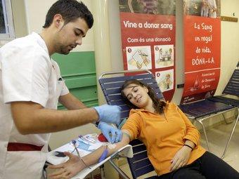 La marató de donants de sang recull 162 dosis.