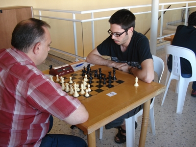 Jordi Bigas i Jordi Carramiñana s´emporten l´Obert de Platja d´Aro d'Escacs