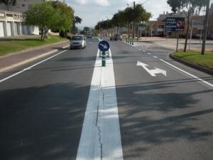 L'Ajuntament fa una actuació vial preventiva a l'accés a Bujonis i Pedralta de SFG