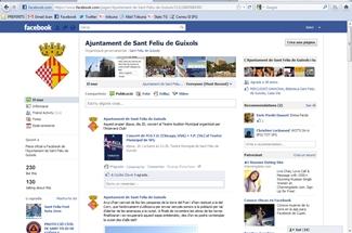 L´Ajuntament es posa al dia amb les noves tecnologies i ja té perfil a Facebook