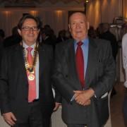 Dimarts, el Rotary Club Costa Brava homenatjà Roberto Pallí en un sopar-sorpresa