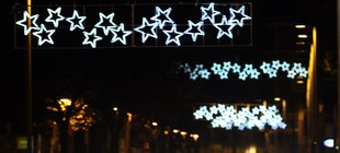 Austeritat en l'enllumenat nadalenc, amb excepcions