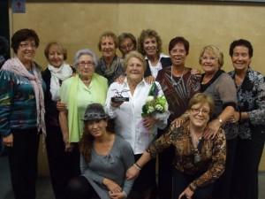 Carme Andrés homenatjada per 30 anys de lluita contra el càncer a Sant Feliu
