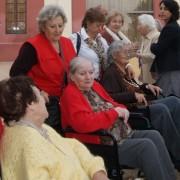El Museu i Creu Roja porten a residents dels geriàtrics al Salvament i al Tinglado