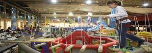Tres pistes de gel i un munt d'activitats per als infants