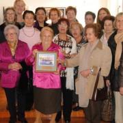 Homenatge d'agraïment i comiat a Carmen Andrés a l'Ajuntament de Sant Feliu