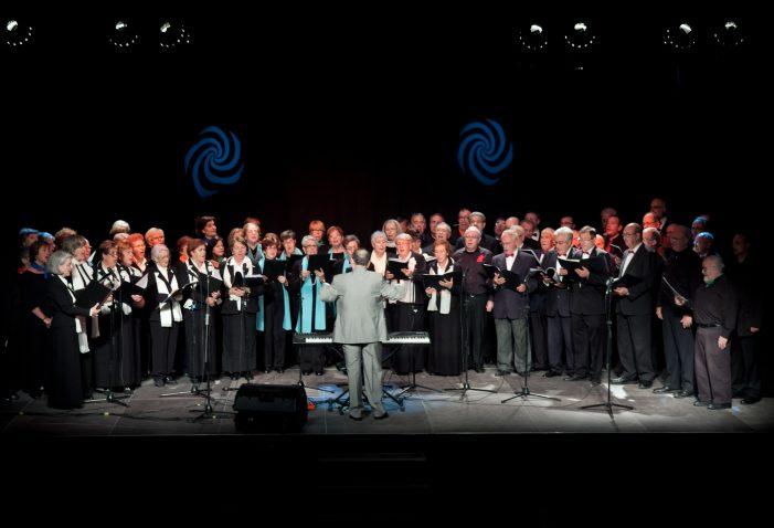 Gran èxit al concert Catalunya Coral celebrat a Santa Cristina d'Aro