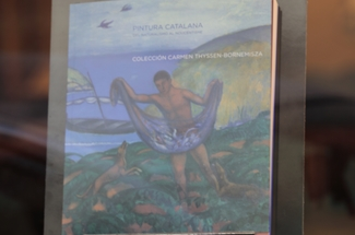 Un catàleg distribuït a Sant Feliu mostra part de l´obra del possible futur museu Thyssen