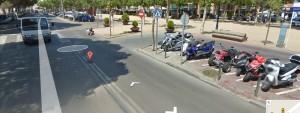 Un veí detecta la traducció al castellà de noms de carrers de SFG al Street View de Google