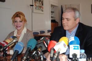 Carmen Thyssen torna a aplegar mitjans de tot l'Estat per promocionar Sant Feliu