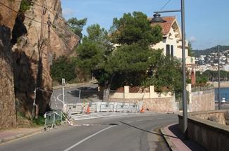 Inici imminent de l'obra per reparar el penya-segat de Sant Elm, a Sant Feliu