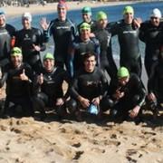 """L'Aquàtic Club Xaloc celebra aquest diumenge, la seva travessia anomenada """"No al fred"""""""
