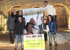 Es presenta Guíxols Solidari l'equip guixolenc que participarà a la Trailwalker de Maig