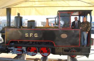 Restaurat el trenet de Sant Feliu