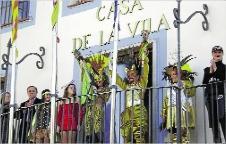 El Rei i la Reina del Carnaval de Platja d´Aro fan el pregó
