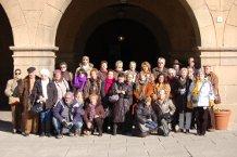 La sortida dels Amics del Museu de SFG a Barcelona: freda per fora, càlida per dins