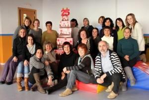 L'equip de l'Escola Bressol fa memòria dels 25 anys de vida del centre escolar