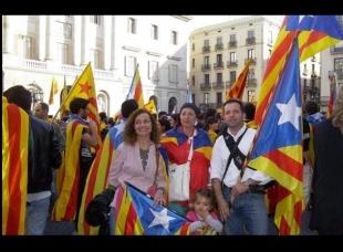 SI .Santa Cristina d'Aro té la seva representació a tots els actes que reivindiquen la Independència de Catalunya