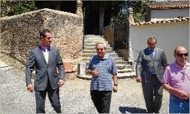 El subdelegat del Govern visita Santa Cristina i s´interessa pels projectes