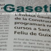 Activitats i comunicats de Sant Feliu de Guíxols