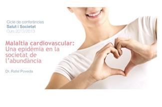 La propera xerrada del cicle Salut i Societat tractarà de les malalties cardiovasculars
