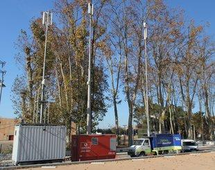 Nova antena de telefonia per a Santa Cristina