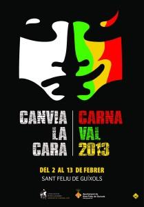 El cartell de Jordi Ferrando, imatge del Carnaval