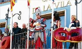 El Reis del Carnaval agafen el comandament de Platja d´Aro amb el pregó