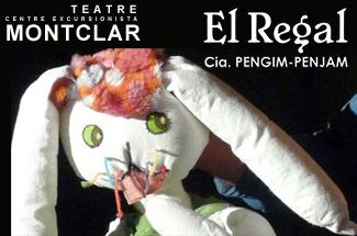 "Espectacle infantil de titelles ""El Regal"" al C.E Montclar"