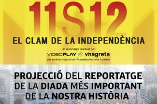 """Guíxols per la Independència Projecta el documental """"El clam de la independència"""" al Teatre Municipal"""
