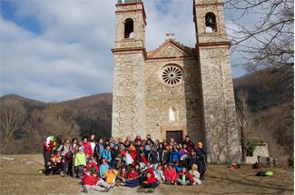 Excursió de la secció juvenil i infantil del Centre Excursionista Montclar a Camprodon i Vallter