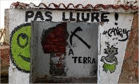 La Generalitat executarà l´enderroc del mur del Club de Mar per uns 12.000 euros