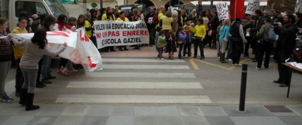 Jornada reivindicativa per l'educació pública