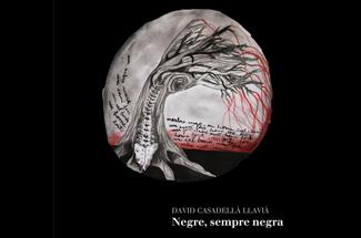 """El poeta empordanès David Casadellà presenta el seu primer poemari titulat """"Negre, sempre Negra"""""""