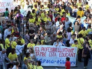 La protesta, al carrer