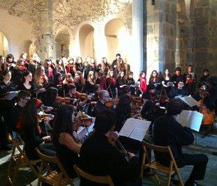 Concert benèfic a Sant Pere de Rodes